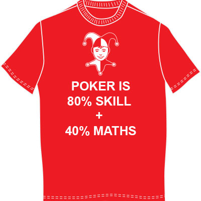 Poker Is 80% Skill + 40% Maths
